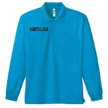 ラバープリント付 / ロングスリーブポロシャツ