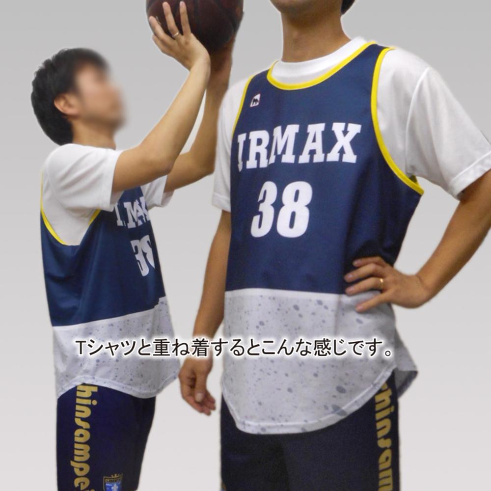 昇華バスケタンク(タンクトップ)・パンツセット